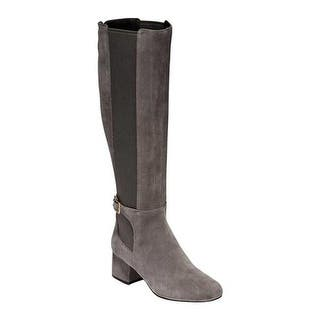 ce143fbab75 Quick View. Was  203.95.  65.00 OFF.  138.95. Cole Haan Women s Avani  Stretch Tall Boot Stormcloud Suede
