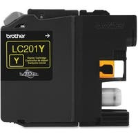 """""""Brother LC201Y Brother Innobella LC201Y Ink Cartridge - Yellow - Inkjet - Standard Yield - 260 Page - OEM"""""""
