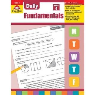 Evan-Moor Educational Publishers 3244 Daily Fundamentals, Grade 4