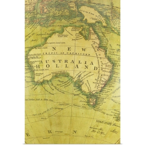 Free Map Of Australia To Print.Shop Poster Print Entitled Map Of Australia Multi Color Free