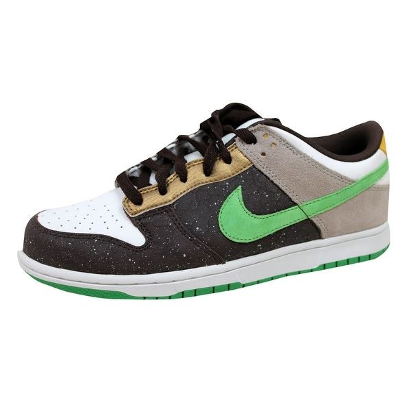 Nike Men's Dunk Low 6.0 Dark Cinder/Hyper Verde-Granite 314142-232