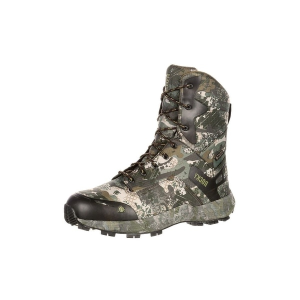 cdb33dd5a2e Shop Rocky Outdoor Boots Mens Broadhead Waterproof Insulated Gray ...