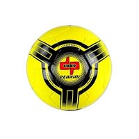 8303 Perrini Futsal - Official Size 4 Soccer Ball Yellow & Black