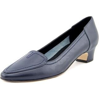 Vaneli Alta  N/S Round Toe Leather  Heels