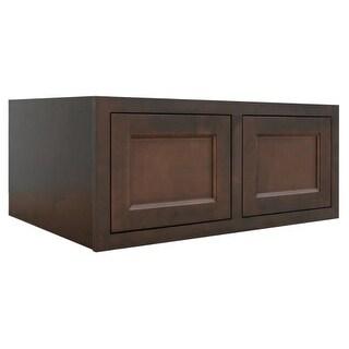 """Healdsburg Refrigerator 36"""" x 15"""" x 24"""" Double Door Wall Cabinet"""