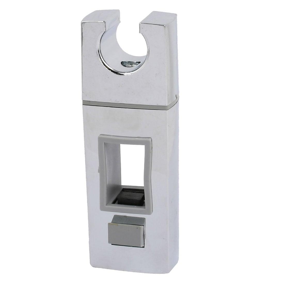 Bathroom Chrome Plated Handheld Shower Head Holder Bracket Silver Tone