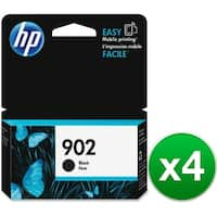 HP 902 Black Original Ink Cartridge (4-Pack) Ink Cartridge