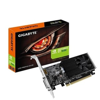 Gigabyte GeForce GT 1030 Low Profile D4 2G Computer Graphics Card