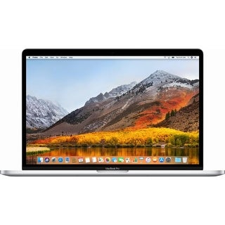 "Apple - MacBook Pro® - 15"" Display - Intel Core i7 - 16 GB Memory - 512GB Flash Storage (Latest Model) - Silver"