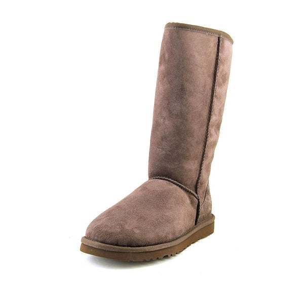 Ugg Australia Classic Tall Round Toe Suede Winter Boot