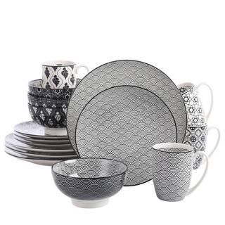 vancasso Macaron Ceramic Dinnerware Set Service for 4