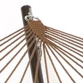 Sunnydaze Polyester Rope Hammock with Spreader Bars (Pillow NOT Included) - Thumbnail 9