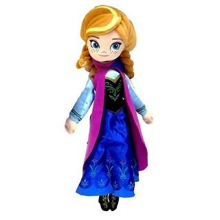 "Frozen 14"" Plush Backpack- Anna - Multi"