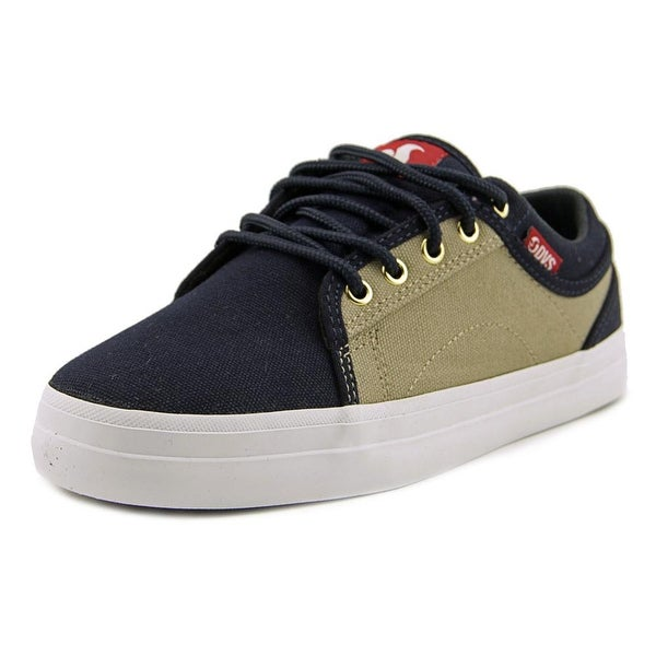 DVS Aversa Men Navy/Tan Skateboarding Shoes