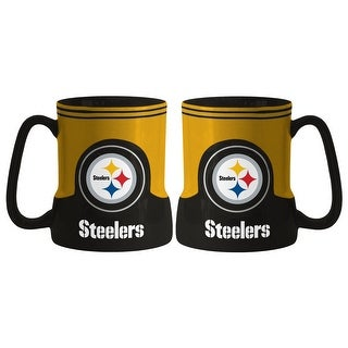 Pittsburgh Steelers Coffee Mug - 18oz Game Time (New Handle)