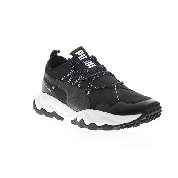Puma Ember Trail Black White Mens Athletic Running Shoes - Overstock -  31864645