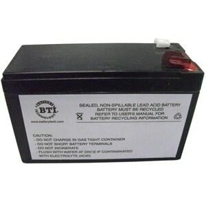 BTI RBC17-SLA17-BTI BTI UPS 9Ah Replacement Battery Cartridge - 9000 mAh - 12 V DC - Lead Acid