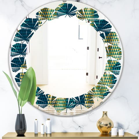 Blue Large Over 32 High Mirrors Sale Ends In 2 Days Shop Online At Overstock