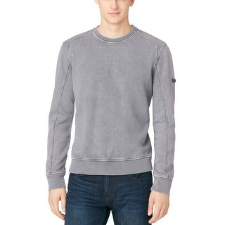 Calvin Klein Jeans CK Platinum Grey Terry Cloth Crewneck Sweatshirt XX-Large