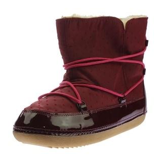 Zara Kids Girls Faux Fur Winter Boots - 3.5/4