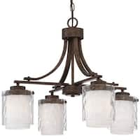 Craftmade 35424 Kenswick Single Tier 4 Light Chandelier - 24.75 Inches Wide