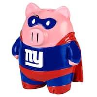 "NFL 8"" Team Superhero Piggy Bank: New York Giants - Multi"