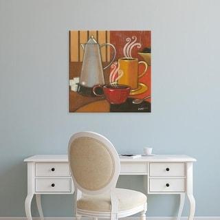 Easy Art Prints Norman Wyatt's 'Another Cup II' Premium Canvas Art