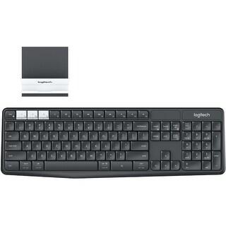 Logitech K375s Muli-Device Wireless Bluetooth Keyboard and Stand Combo (Refurbished)