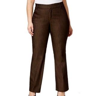 Lee NEW Brown Monaco Women's Size 24W Plus Petite Denim Dress Pants|https://ak1.ostkcdn.com/images/products/is/images/direct/f7a6d2b583ed3ca0c33ade93e2cba3164454f279/Lee-NEW-Brown-Monaco-Women%27s-Size-24W-Plus-Petite-Denim-Dress-Pants.jpg?_ostk_perf_=percv&impolicy=medium