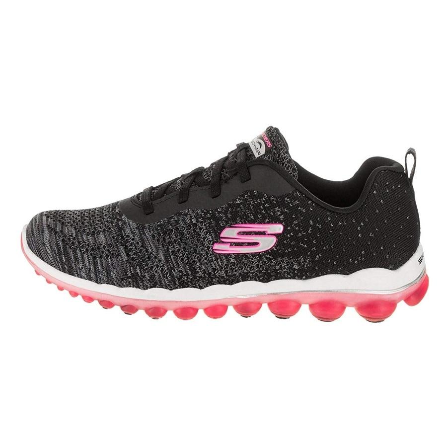 Femme Baskets mode Skechers Charcoal & Pink Equalizer