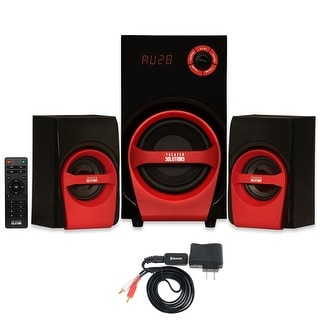 Theater Solutions TS215 Home 2.1 Speaker System with Bluetooth and USB / SD Multimedia