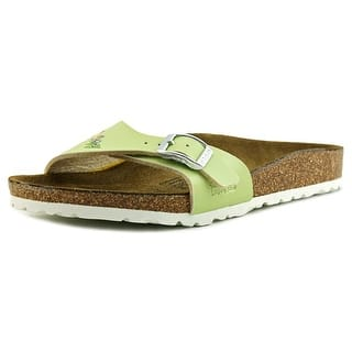 Birki's Menorca N Open Toe Synthetic Slides Sandal|https://ak1.ostkcdn.com/images/products/is/images/direct/f7a911d53f278e456e5eda25b8f1cf944ecbb7ff/Birki%27s-Menorca-Youth-N-Open-Toe-Synthetic-Green-Slides-Sandal.jpg?impolicy=medium