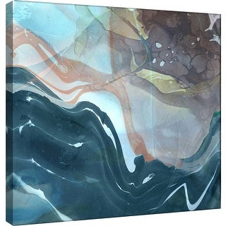 "PTM Images 9-101183  PTM Canvas Collection 12"" x 12"" - ""Coastal"" Giclee Abstract Art Print on Canvas"