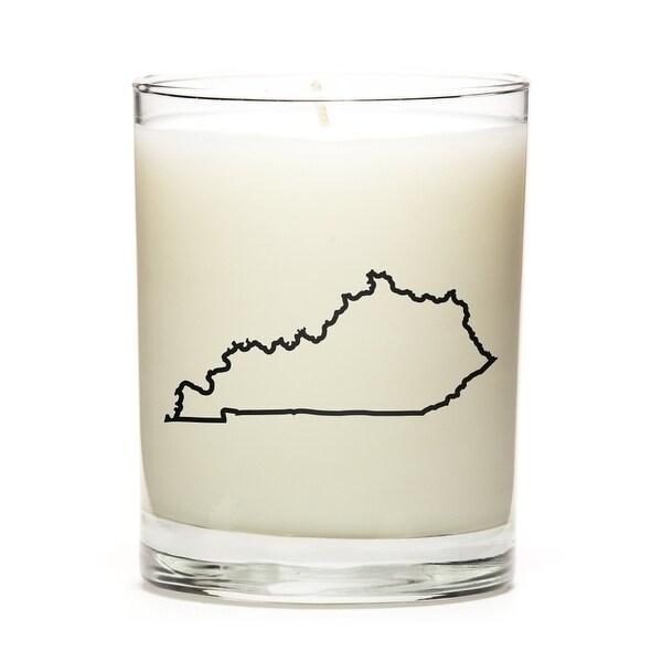 Custom Gift - Map Outline of Kentucky U.S State, Lemon
