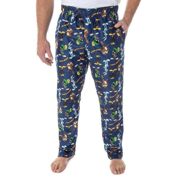 Warner Bros Mens Looney Tunes Lounge Pants