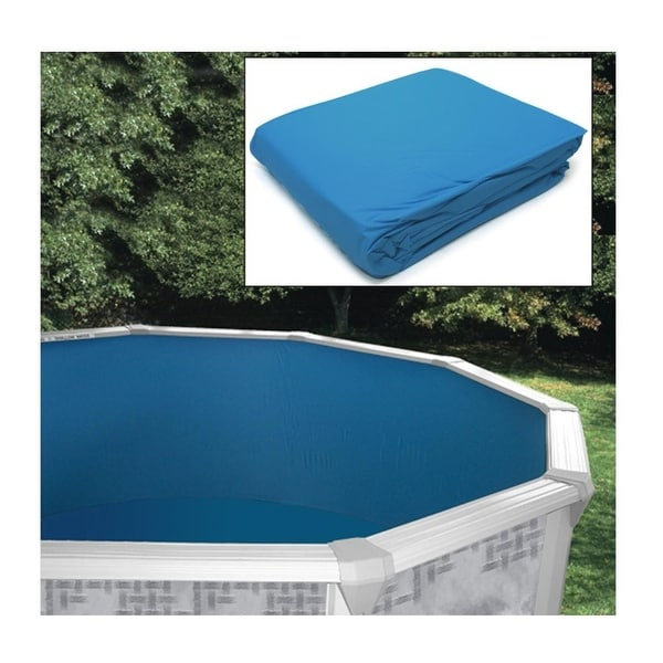 Shop Replacement Liner For 18 Ft Round Above Ground Swimming Pools Blue Free Shipping Today