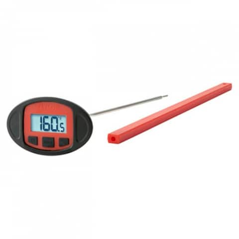 Taylor 846GW Long Stem Grilling Thermometer with Battery, 10""