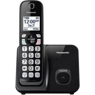 Panasonic Kx-Tgd510b Expandable Cordless Phone With Call Block - 1 Handset - Black