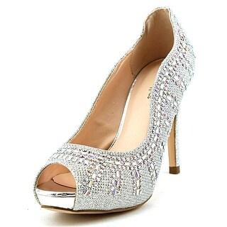 Coloriffics Angela Women Open-Toe Synthetic Heels