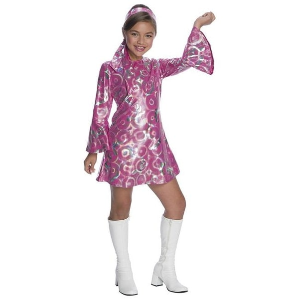 Shop Charades Costumes Halloween Girls Disco Princess Costume - Medium - Free  Shipping On Orders Over  45 - Overstock.com - 22932795 2336858f761c