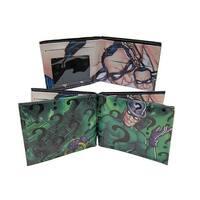 DC Comics Villains- Riddler Faux Leather Bi-Fold Wallet