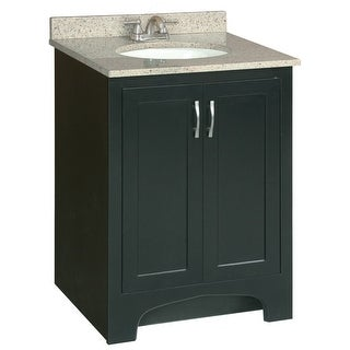 "Design House 541235 Ventura 24"" Wood Vanity Cabinet Only - Espresso"