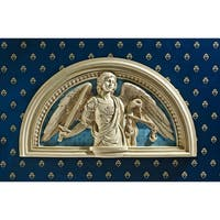 Design Toscano St. Michael, the Prince of Light Wall Lunette