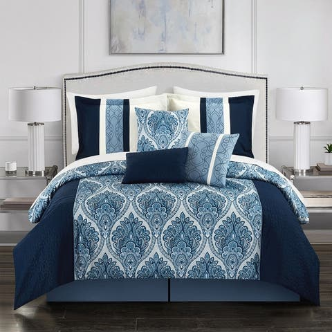 Gracewood Hollow Hosseini 7-piece Reversible Comforter Set
