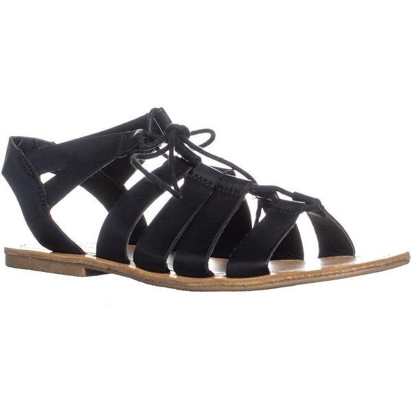 668eb2e48ad7 Shop madden girl Oran Tie Up Gladiator Flat Sandals