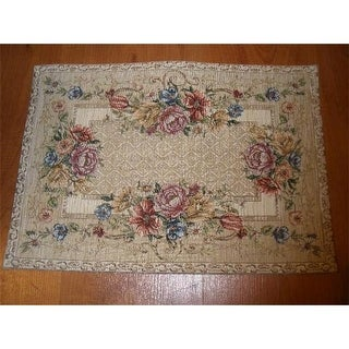 Tapestry Trading PL1320 14 x 20 in. Begium Doily Plazza Placemat