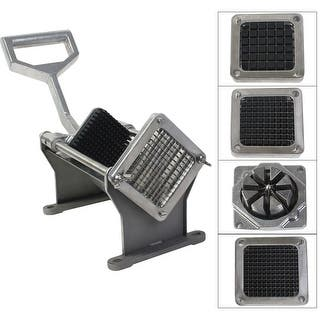Costway Potato French Fry Fruit Vegetable Cutter Slicer Commercial Quality W 4 Blades|https://ak1.ostkcdn.com/images/products/is/images/direct/f7adb289be86e8f7f0a68a551ef03f4ddfa3bb08/Costway-Potato-French-Fry-Fruit-Vegetable-Cutter-Slicer-Commercial-Quality-W-4-Blades.jpg?impolicy=medium