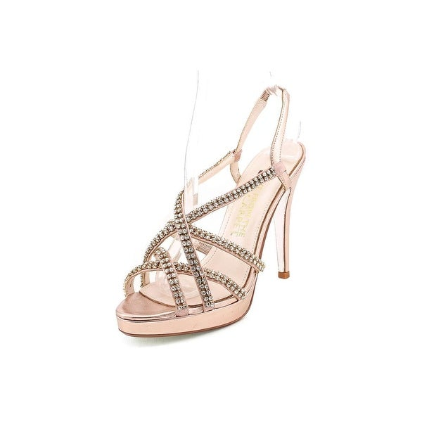 E! Live From The Red Carpet E0024 Women Open Toe Synthetic Sandals