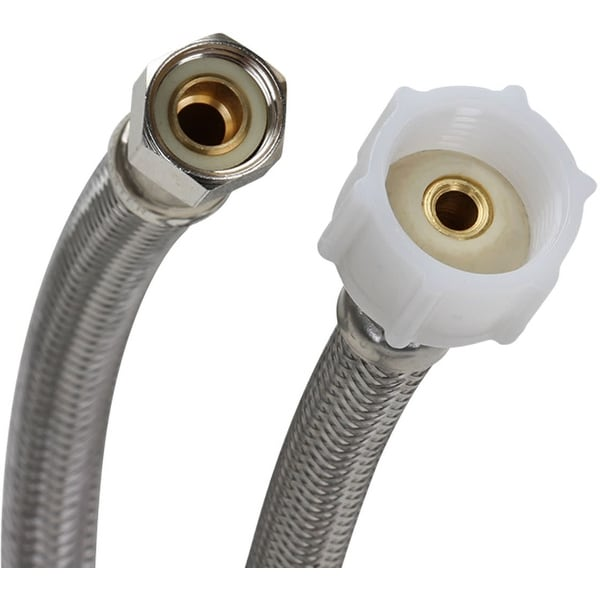 "Fluidmaster PRO1T09 9"" Toilet Connector, 3/8"" Compression x 7/8"" Ballcock"