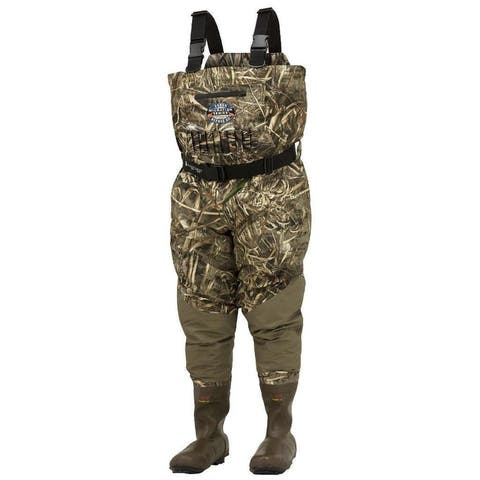 Frogg Toggs Grand Refuge 2.0 Cleated Chest Insulated Waders Realtree Max5 Camo